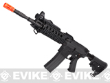 Evike Custom G&G Full Metal M4 RASII Airsoft AEG Rifle w/ LE Stock - Black