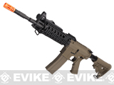 Evike Custom G&G Full Metal M4 RASII Airsoft AEG Rifle w/ LE Stock - Tan