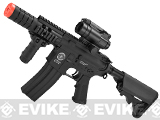 Evike Custom G&G Electric Blowback M4 Patriot w/ Crane Stock Airsoft AEG Rifle - Black