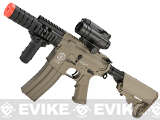 Evike Custom G&G Electric Blowback M4 Patriot w/ Crane Stock Airsoft AEG Rifle - Tan