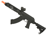Evike Custom AK Hybrid Full Metal AK47 Airsoft AEG with 8.5 ICS Tubular Handguard