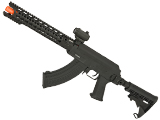 Evike Custom AK Hybrid Full Metal AK47 Airsoft AEG with 12.5 MOTS Breacher Keymod Rail