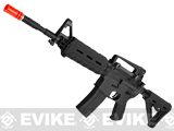 Colt / Magpul PTS Licensed Full Metal Colt M4 MOE Carbine Airsoft AEG by King Arms - Black