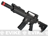 Evike Class I Custom WE-Tech Full Metal M4 CQB-R Airsoft AEG Rifle
