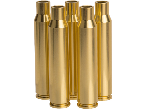 SOCOM Gear CNC Machined Brass Replacement Shells for CheyTac M200 Shell Ejecting Sniper Rifles (Qty: 5 Pack)
