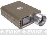 Pre-Order Estimated Arrival: 09/2014 --- Evike.com Advanced Compact Airsoft Computer Chronograph II (Dark Earth)
