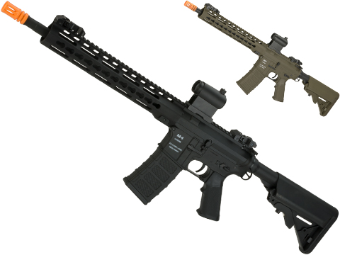 Classic Army Polymer  KM10 M4 Airsoft AEG Rifle with 10 KeyMod Handguard