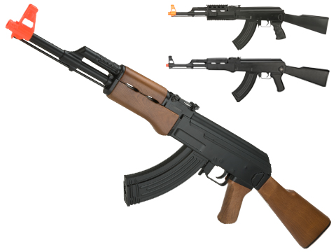 (NEW YEAR'S EPIC DEAL!!!) CYMA CM022 AK47 Full Size Low Power Airsoft AEG Rifle