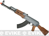 CYMA Latest Edition CM028 Airsoft AK47 AEG Rifle - Simulated Wood Furniture