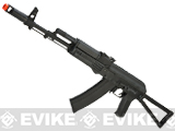 CYMA Stamped Metal AK74 w/ Folding Stock Airsoft AEG Rifle - (Package: Gun Only)