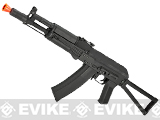 CYMA Stamped Metal AK-104 w/ Folding Stock Airsoft AEG Rifle - (Package: Gun Only)