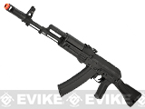 CYMA Stamped Metal AK-74 w/ Folding Synthetic Stock Airsoft AEG Rifle - (Package: Gun Only)