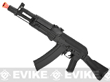 CYMA Stamped Metal AK-104 w/ Folding Synthetic Stock Airsoft AEG Rifle -