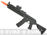 CYMA CM040I Tactical Full Metal Tactical AK Airsoft AEG Rifle - Black (Package: Gun Only)