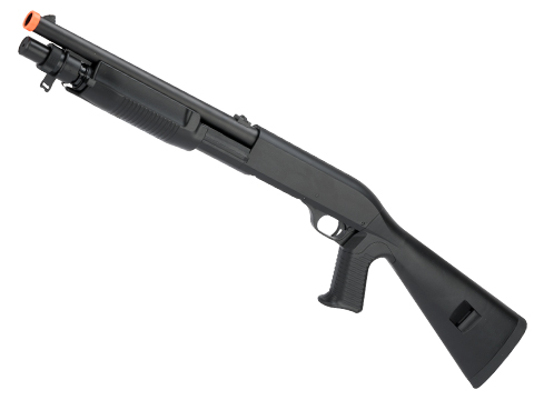 CYMA Sport M3 3-Round Burst Multi-Shot Shell Loading Shotgun (Model: Full Stock CQB)