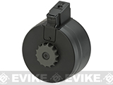A&K 2500rd Auto Winding & Sound Control Drum Magazine for AK Series Airsoft AEG