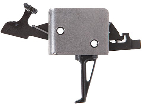 CMC Triggers AR15 / AR10 Two Stage Drop-In Trigger (Model: Flat / 1 lb Set - 3 lb Release)