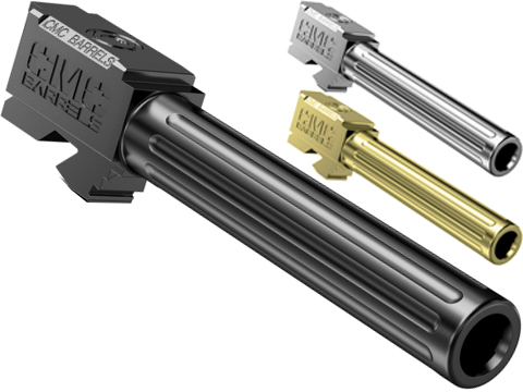 CMC Triggers Stainless Steel Fluted Drop-In Barrel for GLOCK Pistols