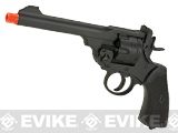 CSI Webley MK VI Airsoft Co2 Gas Revolver - Black