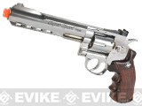 "WG CO2 Full Metal 6"" High Power Airsoft 6mm Magnum Gas Revolver (Chrome)"