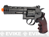 WinGun 4 Airsoft CO2 Revolver w/ 8rd Clip - Black