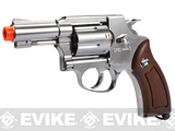 G731 Full Metal CO2 Gas Airsoft Revolver by Win Gun (Color: Chrome)