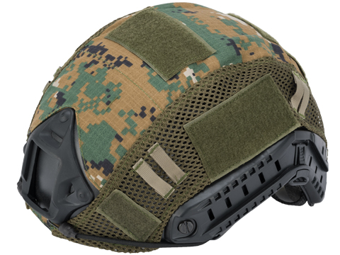 Matrix Bump Type Helmet Cover (Color: Digital Woodland)