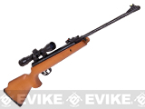Crosman Optimus Breakbarrel .22 Cal Air Rifle Combo with 4x32 Scope