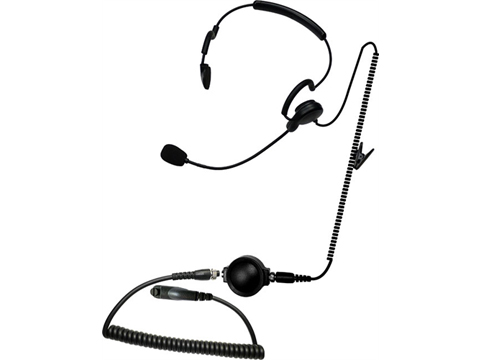 Code Red Headsets Close Quarters Battle w/ Boom Microphone Headset & Waterproof PTT (Connector: Kenwood 2 Pin / Baofeng)