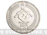 Evike.com 2013 Limited Edition Brass 50mm Collectible Challenge Coin