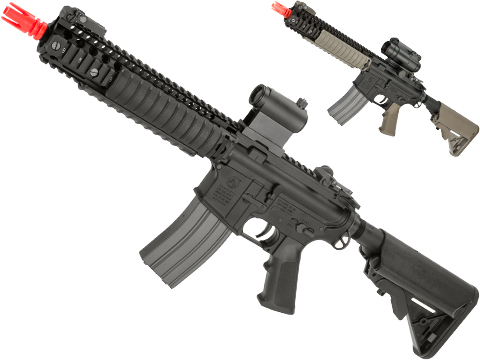 Cybergun Colt Licensed MK18 MOD1 Full Metal Airsoft AEG Rifle by VFC (Color: Dark Earth)