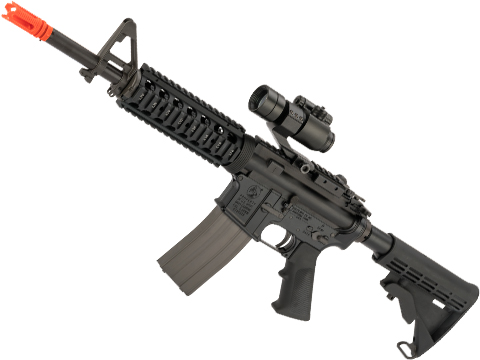 GHK Colt Licensed M4A1 RIS Gas Blowback Airsoft Rifle by Cybergun (Length: 12.5)