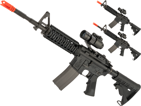 GHK Colt Licensed M4A1 RIS Gas Blowback Airsoft Rifle by Cybergun