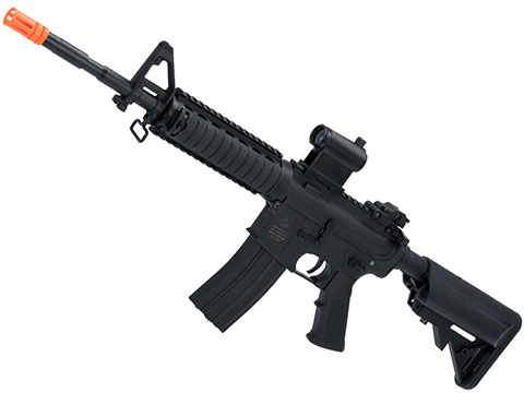 Colt Licensed Sportsline M4 AEG by Cybergun (Model: M4 RIS w/ Two Piece Quadrail)
