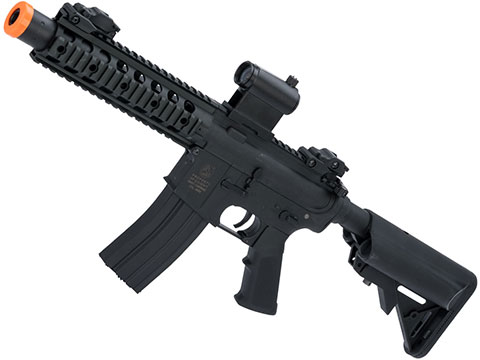 Colt Licensed Sportsline M4 AEG by Cybergun (Model: M4 SBR w/ 8 Quadrail)