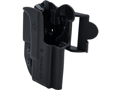Comp-Tac International OWB Kydex w/ Modular Mounting System (Model: GLOCK 19, 23, 32 Gen 1-4 / Right Hand / Black)