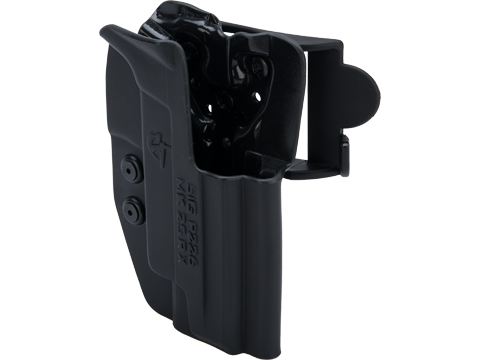 Comp-Tac International OWB Kydex w/ Modular Mounting System (Model: SIG P226 MK25 / Right Hand / Black)
