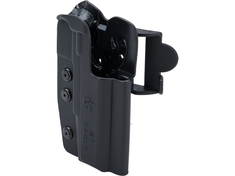 Comp-Tac International OWB Kydex w/ Modular Mounting System (Model: STI Eagle / Right Hand / Black)