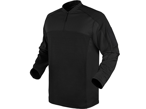 Condor Trident Long Sleeve Battle Top (Color: Black / Small)