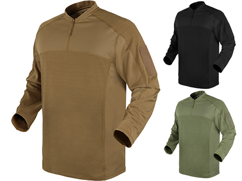 Condor Trident Long Sleeve Battle Top (Color: Tan / Medium)