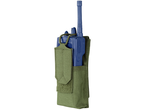 Condor Patrol Radio Pouch (Color: OD Green)