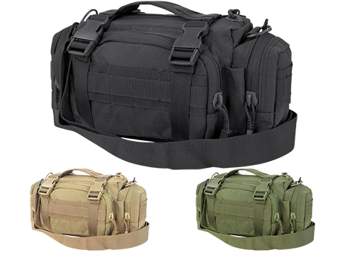 Condor Tactical MOLLE Modular Accessory MOLLE Pouch / Deployment Bag (Color: Black)