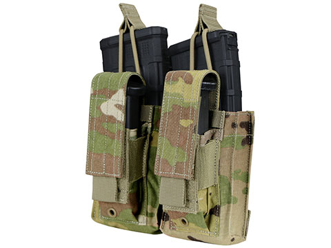 Condor Gen 2 Double Kangaroo Mag Pouch for M4/M16 (Color: Scorpion OCP)