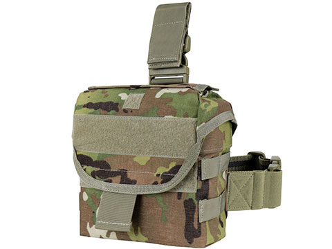 Condor Drop Leg Dump Pouch (Color: Scorpion OCP)