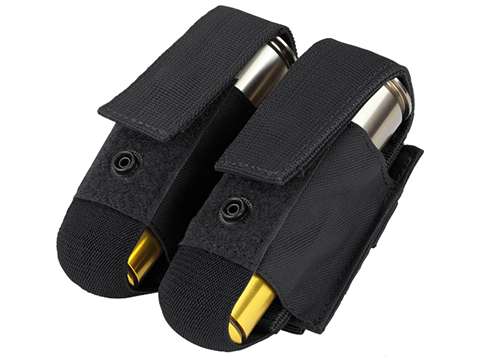 Condor Tactical Double 40mm Grenade Pouch (Color: Black)