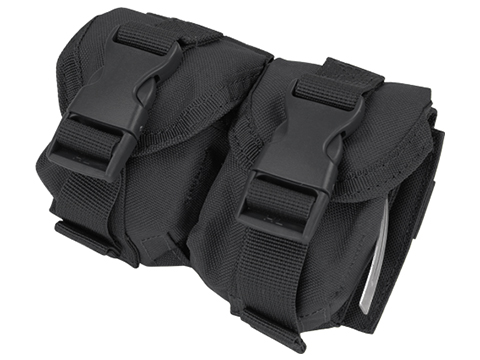 Condor Tactical Double Frag Grenade Pouch (Color: Black)