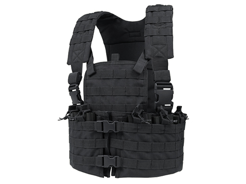 Condor Modular Chest Platform Vest (Color: Black)