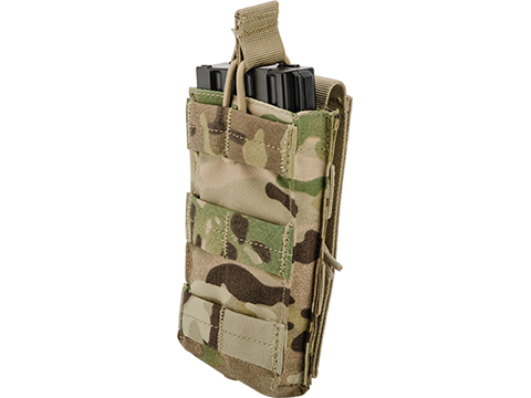 Condor Single Open Top Magazine Pouch for M4/M16 Magazines (Color: Multicam)