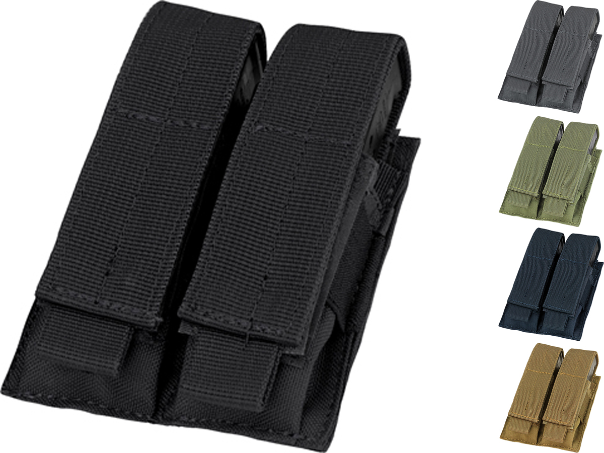Condor Tactical Double Pistol Magazine Pouch (Color: Black)
