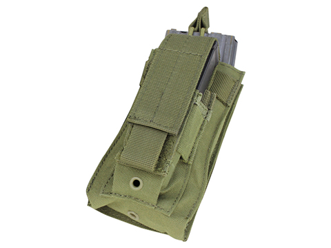 Condor MOLLE Kangaroo M16/M4 Magazine and Pistol Magazine Pouch (Color: OD Green)